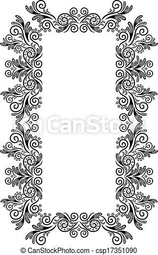 Abstract frame - csp17351090