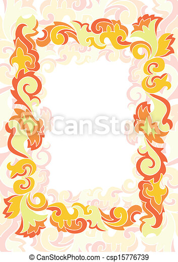 Abstract frame - csp15776739