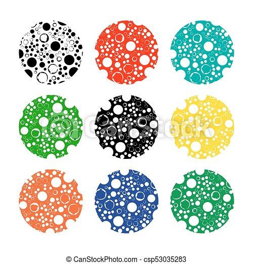 abstract frames set-20 - csp53035283