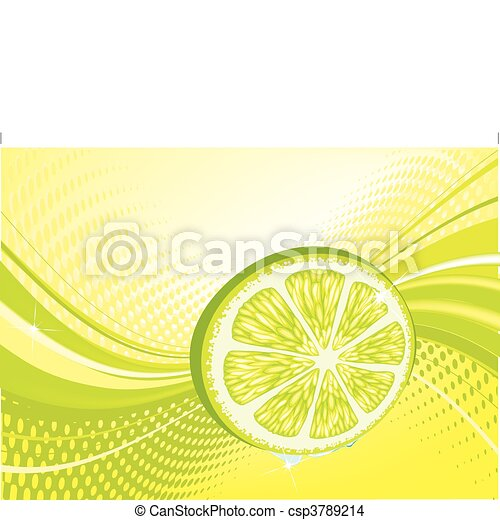 abstract fruit background - csp3789214
