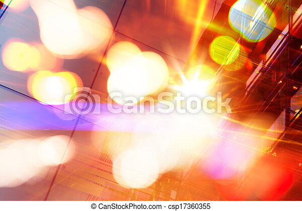 Abstract Futuristic background - csp17360355