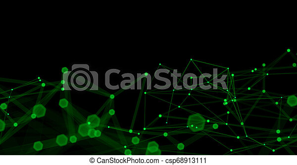 Abstract Futuristic Light Wallpaper Background Design Science Dark Pattern With Structure Mesh And Lines Modern Business Space Triangular