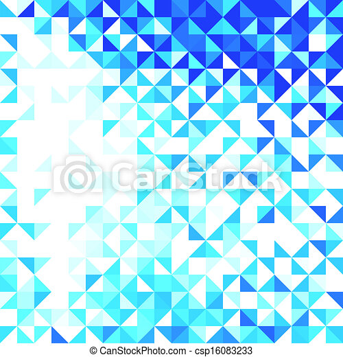 Abstract Geometric Background - csp16083233