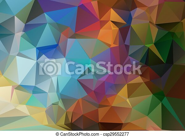Abstract Geometric Background - csp29552277