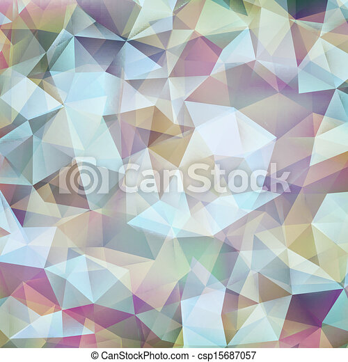 Abstract geometric design shape pattern. EPS 10 - csp15687057