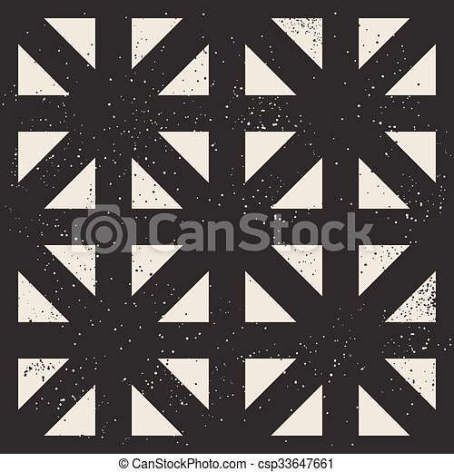Abstract geometric grid seamless pattern - csp33647661