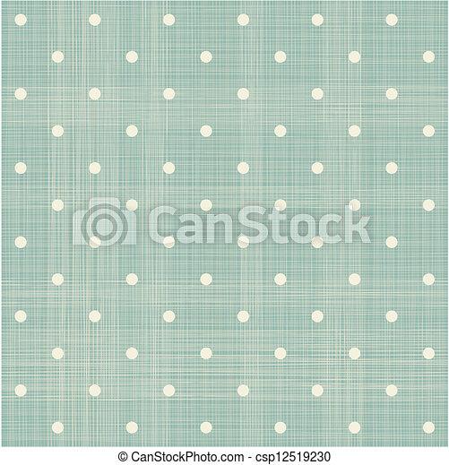 abstract geometric retro seamless polka dot background  - csp12519230