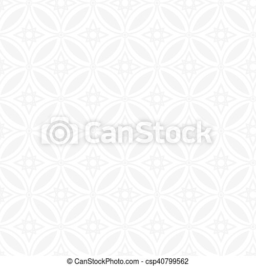 Abstract geometric seamless vector pattern. EPS 10. - csp40799562