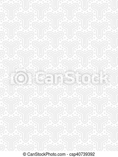 Abstract geometric seamless vector pattern. EPS 10. - csp40739392