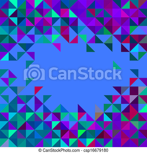 Abstract Geometric Vector Background - csp16679180