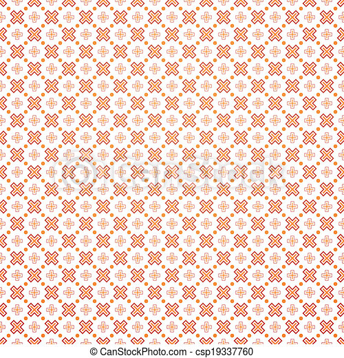 Abstract Geometric Wallpaper With Daggers Vector Illustration