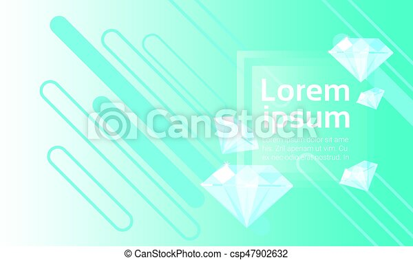 Abstract Geometrical Background Banner Copy Space - csp47902632