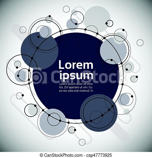 Abstract Geometrical Background Banner Copy Space - csp47773925
