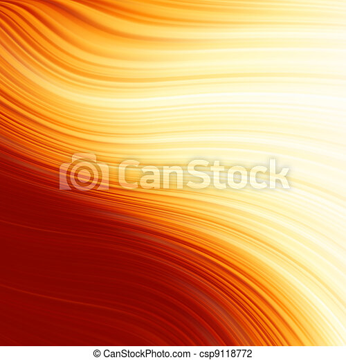 Abstract glow Twist with fire flow. EPS 8 - csp9118772