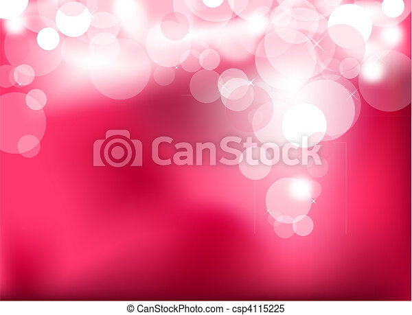 Abstract glowing pink lights - csp4115225