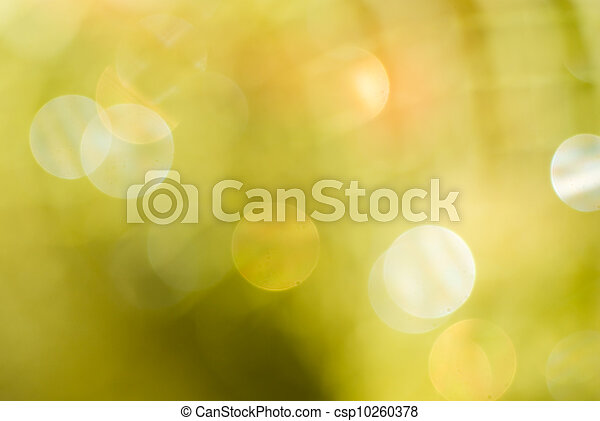 Abstract gold background with bokeh effect - csp10260378