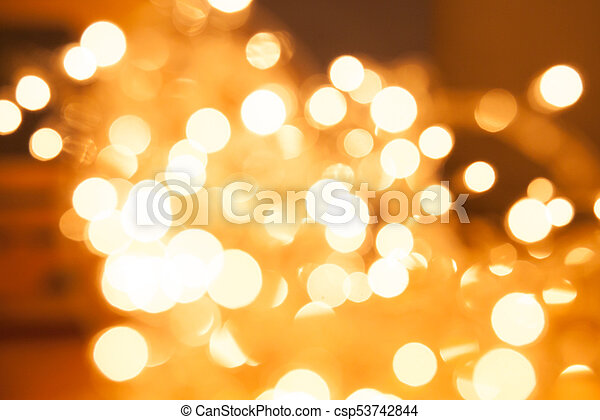 Abstract gold light - csp53742844