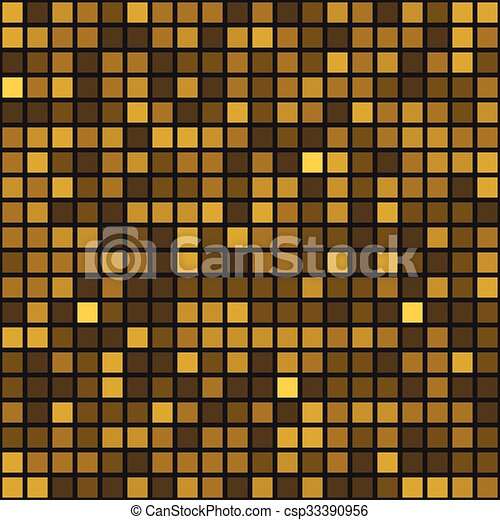 Abstract Golden background - csp33390956