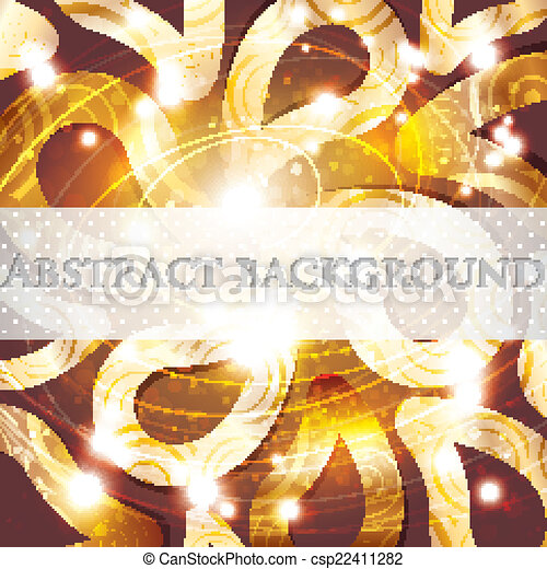 abstract golden background - csp22411282