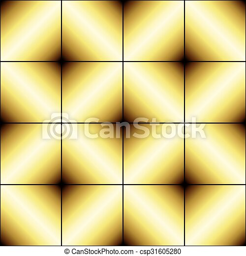 Abstract golden background - csp31605280