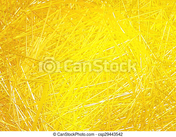 Abstract golden background of intersecting lines. - csp29443542
