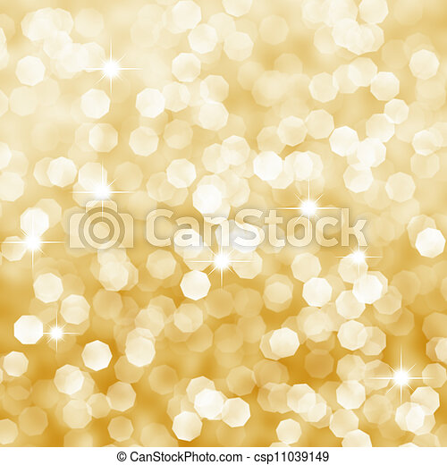 Abstract golden background - csp11039149