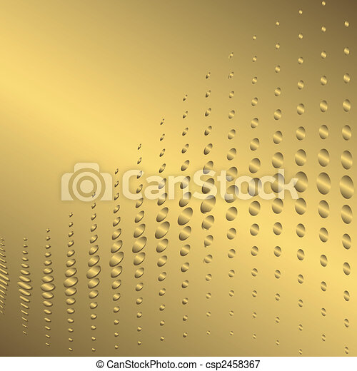 Abstract golden background (vector) - csp2458367