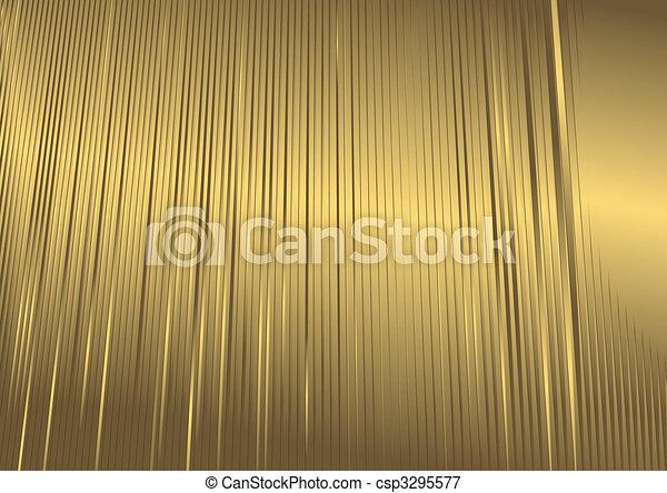 Abstract  golden background (vector) - csp3295577