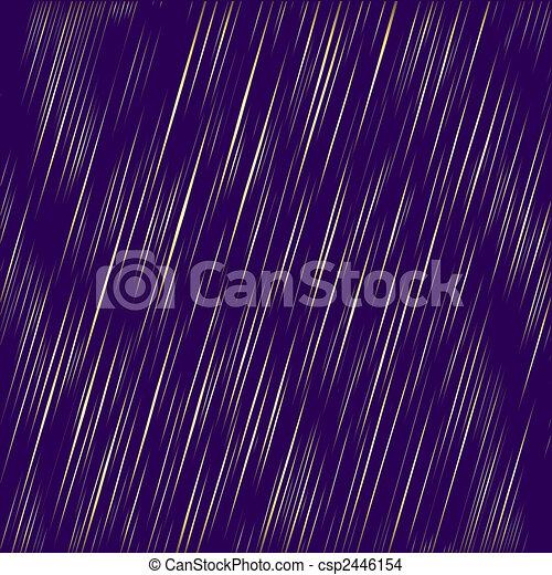 Abstract golden rain (vector) - csp2446154