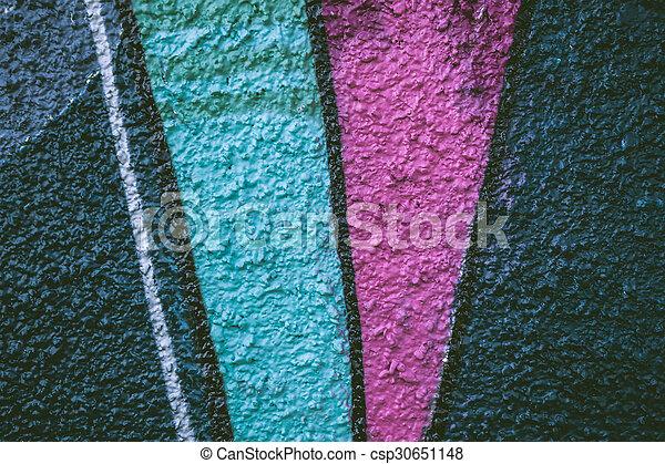 Abstract graffiti closeup - csp30651148