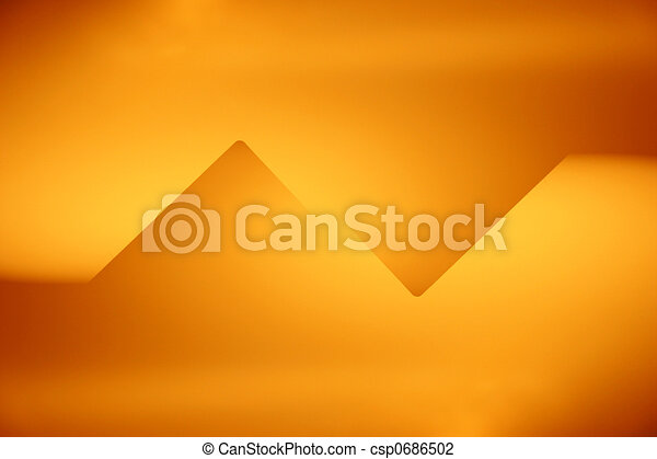 Abstract graphic design - csp0686502