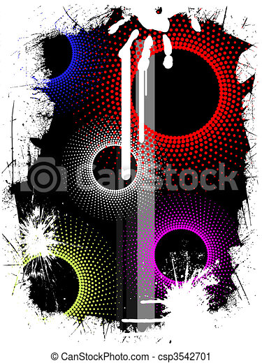 abstract graphic design - csp3542701