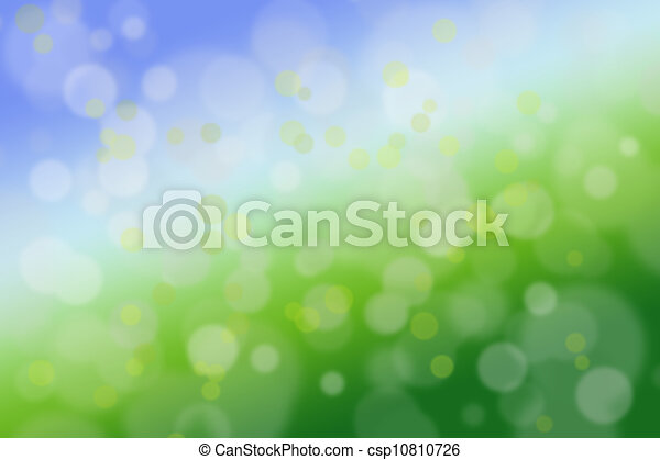 Abstract green and blue background close-up - csp10810726