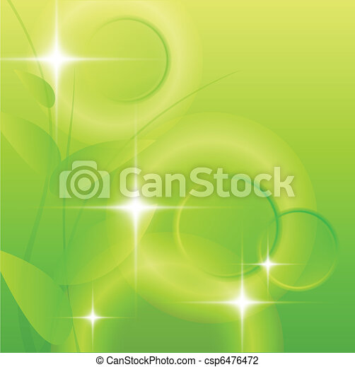 Abstract green background - csp6476472