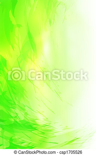 Abstract green background - csp1705526