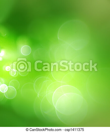 Abstract green background - csp1411375