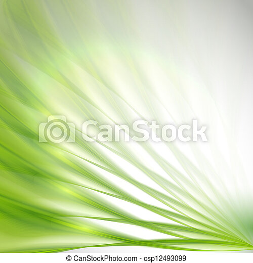 Abstract Green Background - csp12493099