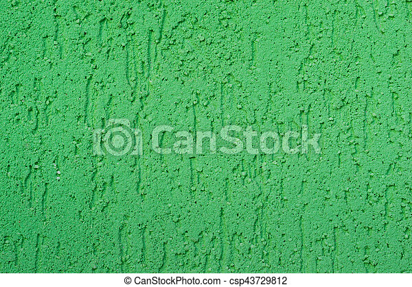 Abstract green background texture wall - csp43729812