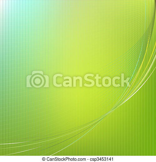 Abstract Green Background - csp3453141