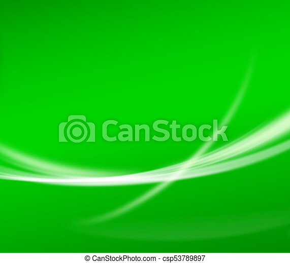 Abstract Green Background Wallpaper With Curve Glitter And Gradient
