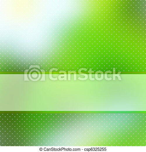 Abstract Green Background with copyspace. EPS 8 - csp6325255