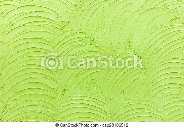 Abstract green cement wall texture background - csp28106512
