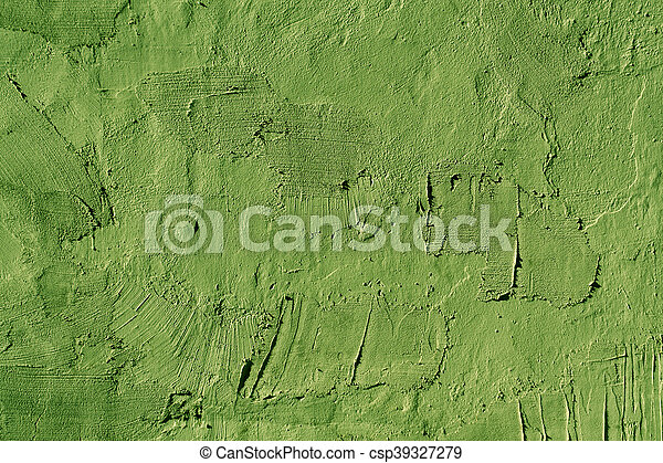 Abstract green cement wall texture. - csp39327279