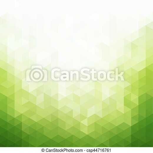 Abstract green light template background - csp44716761