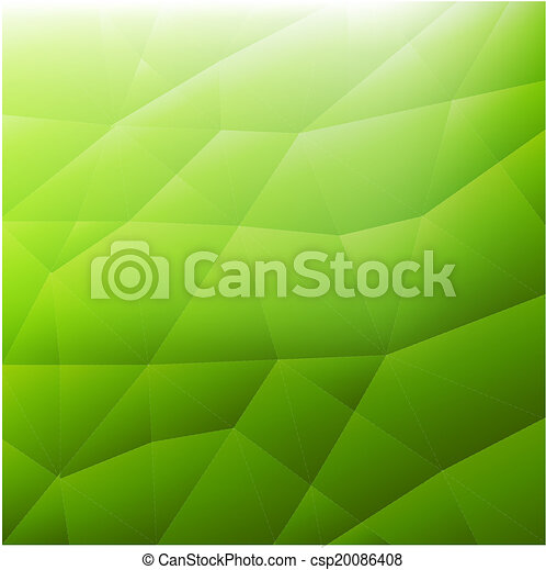 Abstract Green Modern Background - csp20086408