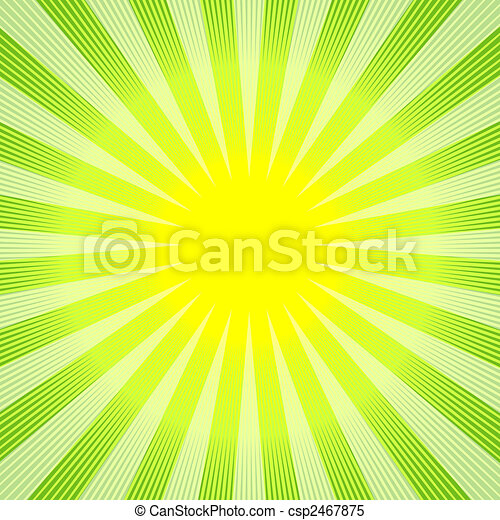 Abstract green-yellow background (vector) - csp2467875