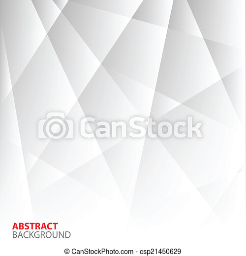Abstract Grey Geometric Background. - csp21450629