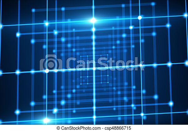 Abstract Grid Wallpaper Dimensional Mesh Stock