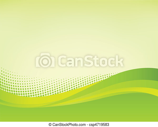 abstract, groene achtergrond - csp4719583