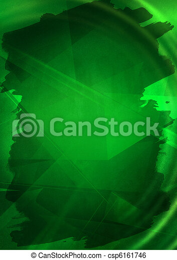 abstract, groene achtergrond - csp6161746